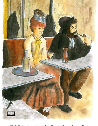 Degas absinthe spoof