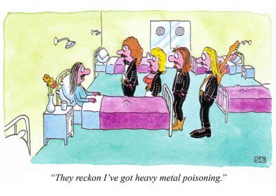 Heavy metal poisoning