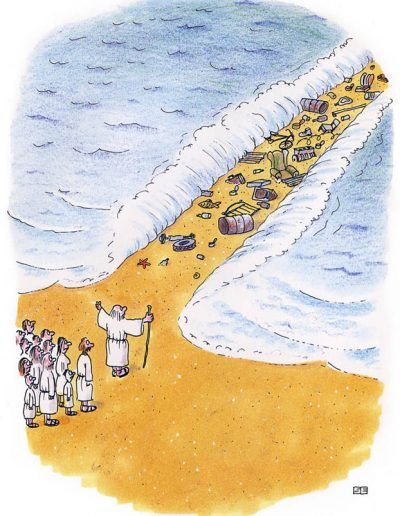 Israelites and junk