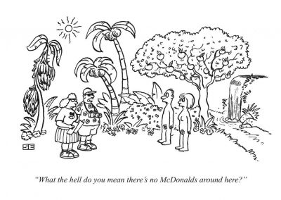 McDonalds in Garden of Eden