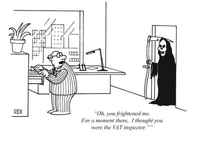 VAT inspector and Grim Reaper